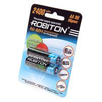 Аккумулятор Robiton R6 2400 mAh 2*BL (2/50)