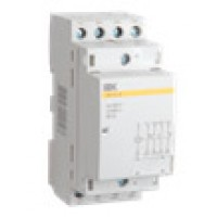 Контактор модульный 20А 2NO+2NC 230B AC  IEK КМ20-22