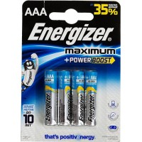 Батарейка  ENERGIZER Maximum LR3 4*BL (96)
