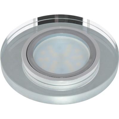 DLS-P106 стекло хром/серебро. GU5.3, 09994