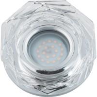DLS-L122 стекло зеркальный/прозр., с св.подс. 3Вт, GU5.3, UL- 00000369