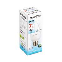 Лампа  Smartbuy Свеча С37 LED  (7W) 220V/4000К/Е27