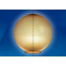 Рассеиватель призматический, шар, 300мм, пластик, бронзовый, UFP-P300B (2/4)