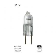 Лампа   Horoz Electric JC 12V/35W/GU4, прозрачная (1/100)