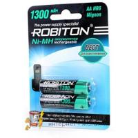 Аккумулятор Robiton R6 1300 mAh 2*BL (2/50)
