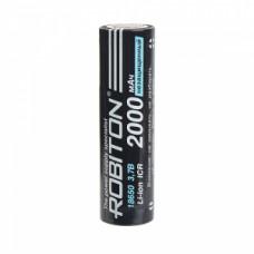 Аккумулятор  Robiton без защиты PK1 LI 18650 (7/5A 3.6v 2000mah)