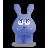 Светильник настольный ФАZА Кролик Фролик синий, LED, 220В/акк