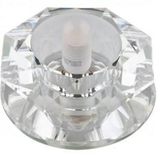 DLS-F112 зеркальный/прозрачный, без лампы, G9, 10125