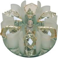 DLS-F120 зеркальный/прозрачный, с элементами цвета шампань, G4, 10638