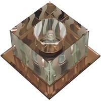 DLS-F126 чайный/прозрачный, квадратный, G4, 10646