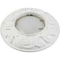 DLS-A101 штамп.сталь белый GU5.3, без лампы, 10629