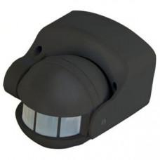 Датчик движения настенный HOROZ, 1000W, 2-12м, 180градусов, черный, HL482
