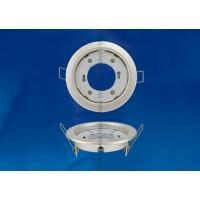 Светильник потолочный  встраиваемый Uniel GX53/H4 Жемчужныйl, белый, UL-00000957 (10)