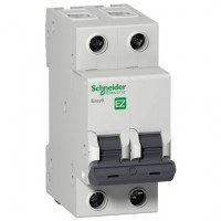 Авт. выкл. Schneider Electric С 2П 25А Easy9, EZ9F34225 (1/6)