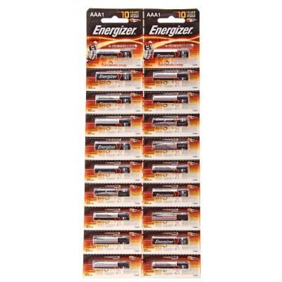Батарейка  ENERGIZER LR3 20*BL