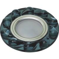 DLS-P122 стекло хром/черный, GU5.3, 10642