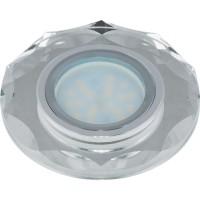 DLS-P105 стекло хром/серебро. GU5.3, 09991