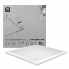 Панель светодиодная LPU-Призма-PRO 36Вт/6500К/2800Лм 595х595*19мм IP40, белая