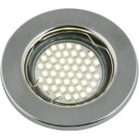 DLS-A104 штамп.сталь хром GU5.3, UL- 00000905
