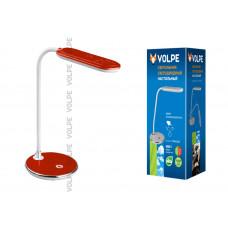 Светильник настольный  VOLPE TLD-522 LED 360Lm DW/Dimmer красный (1/2)