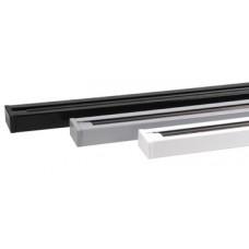 Шинопровод однофазный 1 м (белый, черный, серебро)