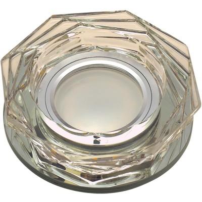 DLS-L122 стекло бронза/прозр., с св.подс. 3Вт, GU5.3, UL- 00000370