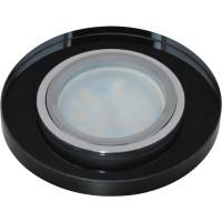 DLS-P106 стекло хром/черный. GU5.3, 09995