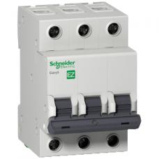 Автоматический выключатель Schneider Electric С 3П 25А Easy9, EZ9F34325